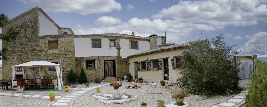 Jardín de Casa Oliban, Arbaniés, Huesca